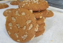 Candied Ginger Cookies