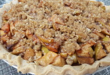Vegan Dutch Apple Pie