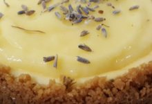 Lavender Citrus Cheesecake
