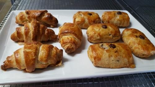 Croissants and Pain Au Chocolat